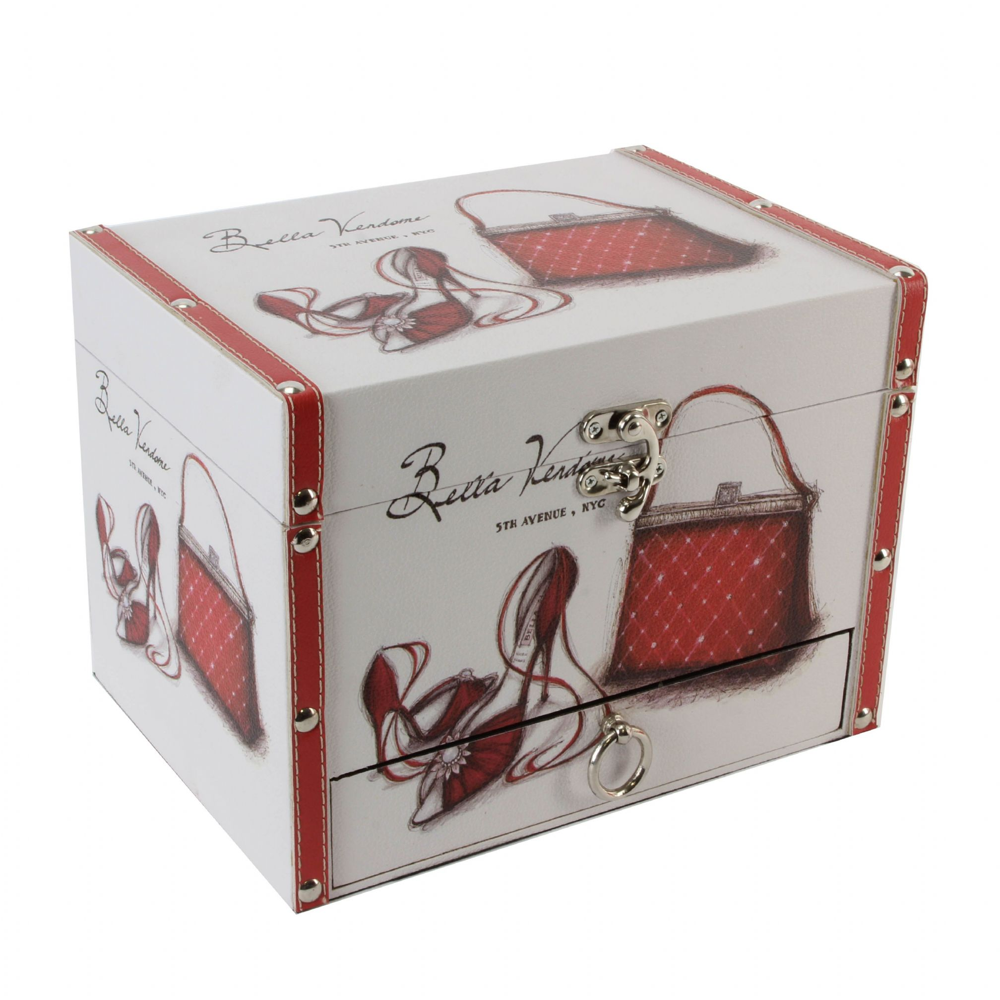 Decorative Storage Boxes Uk : Decorative storage box sophia large jewellery